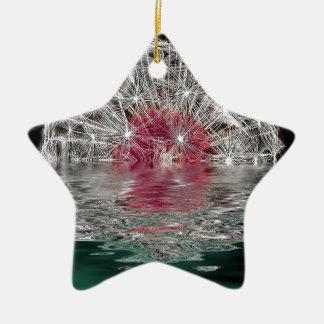 Dandelion Moon Christmas Ornament