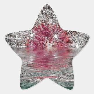 Dandelion Moon Star Sticker