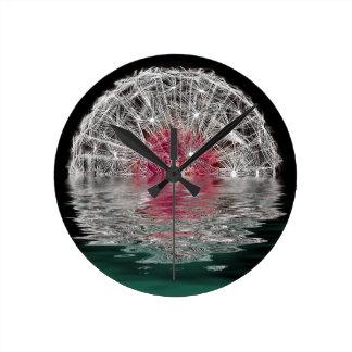 Dandelion Moon Wall Clocks