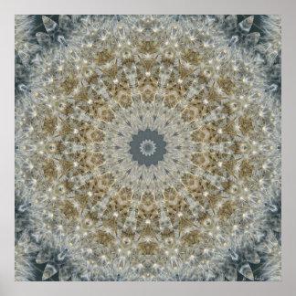 Dandelion Mosaic Nov 2012 Poster
