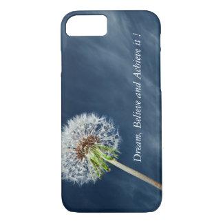 Dandelion-Motivational print iPhone 7 case