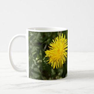 Dandelion Classic White Coffee Mug