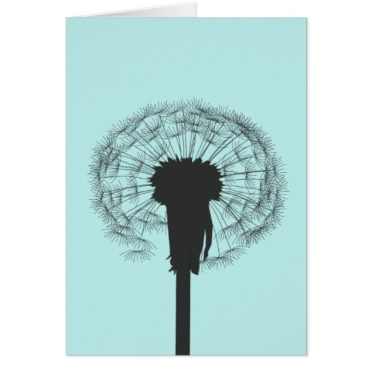 Dandelion Note Card