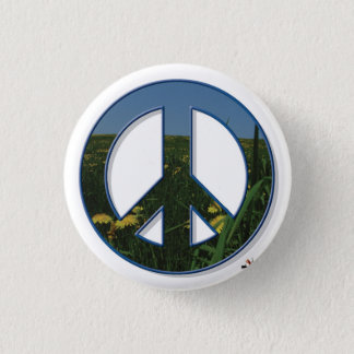 Dandelion Peace Button