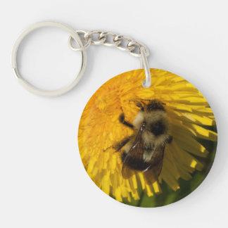 Dandelion Pollenator Key Ring