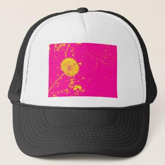 Dandelion pop art cap