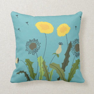 Dandelion Print Cushion