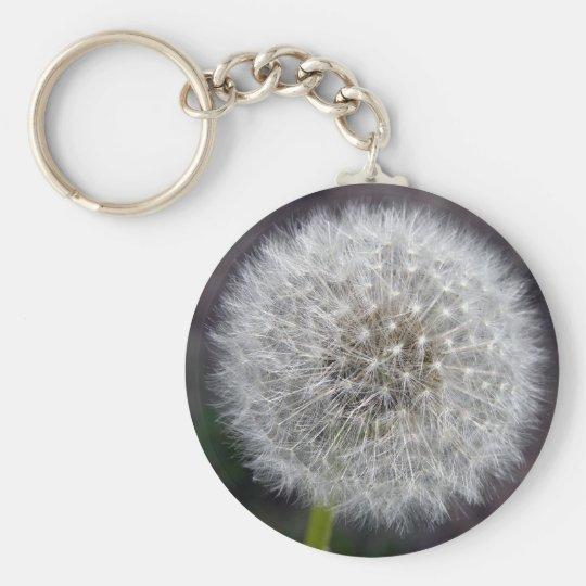 Dandelion Puff Keychain