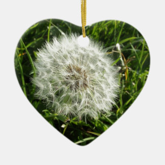 Dandelion Seed Design Christmas Ornament