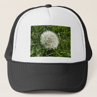 Dandelion Seed Design Trucker Hat