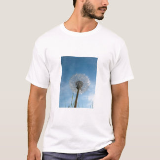 Dandelion Seed Head Adult Tee Shirt