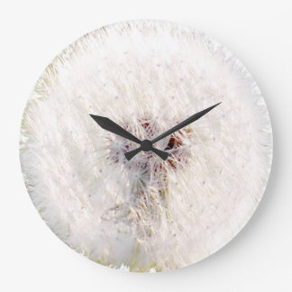 Dandelion seed head clock