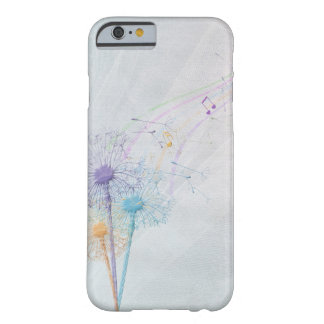 Dandelion seeds and music barely there iPhone 6 case