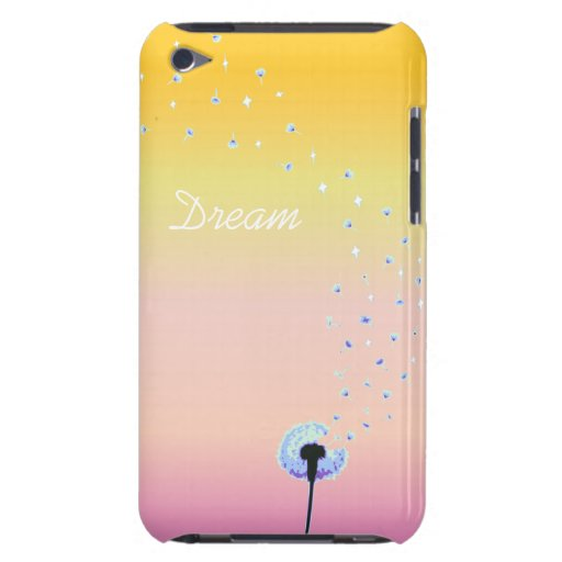 Dandelion Seeds Flying in the Wind - Sunrise iPod Touch Cases