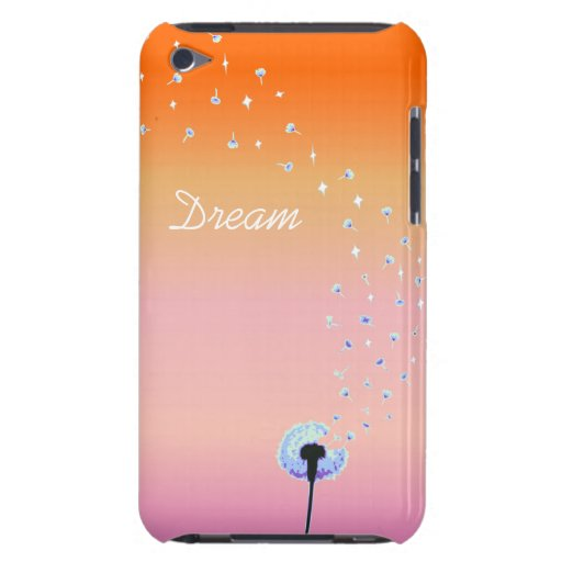 Dandelion Seeds Flying in the Wind -  Sunset iPod Case-Mate Case