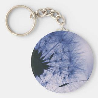 Dandelion Seeds Key Ring