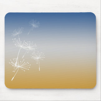 Dandelion seeds mouse mat