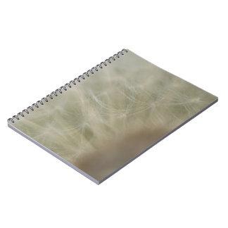 Dandelion Seeds Notebook