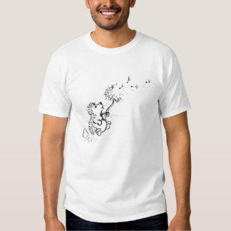 Dandelion seeds t shirts