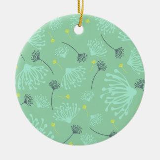 Dandelion Silhouette Christmas Ornament