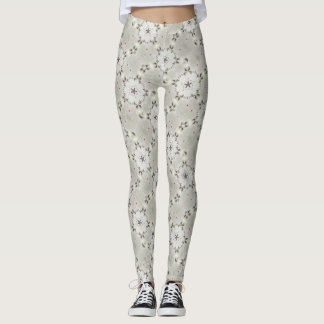 Dandelion Stars Watercolor Leggings