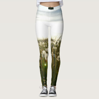 Dandelion Sunset Leggings