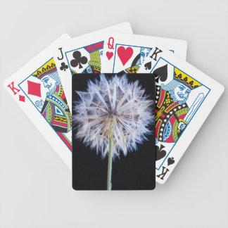 Dandelion (Taraxacum Officinale) Seed Head Poker Deck