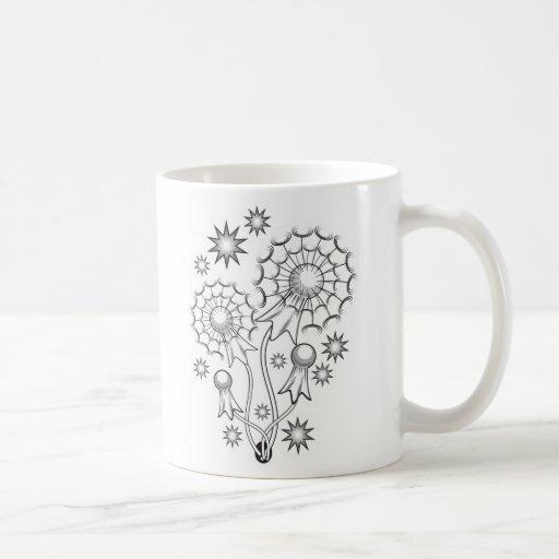 Dandelion Tattoo Design Coffee Mug