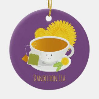 Dandelion Tea Cup Character | Ornament