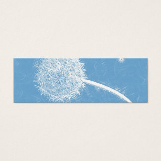 Dandelion Thank You Bookmark & Emerson Quote Mini Business Card