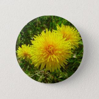 Dandelion Trio 6 Cm Round Badge