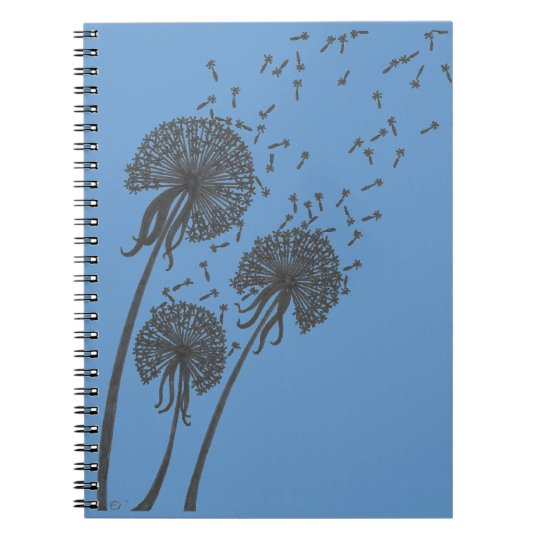 Dandelion Trio Notebook