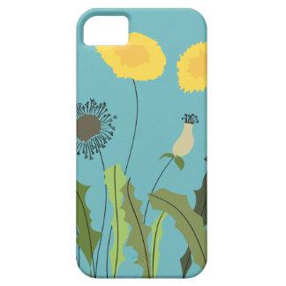 Dandelion, Turquoise iPhone 5 Case