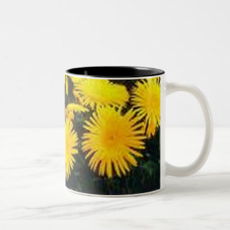 Dandelion Two-Tone Coffee Mug