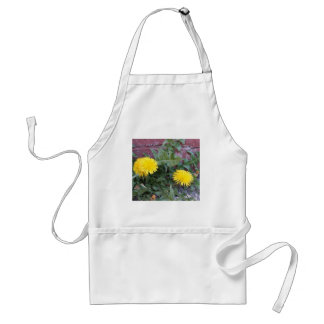 Dandelion Will Make You Wise Standard Apron