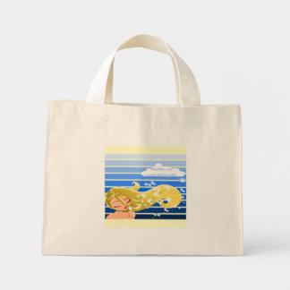 Dandelion Wish Striped Bag