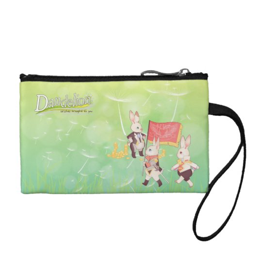 Dandelion Wished Brought to You Cosmetic Bag