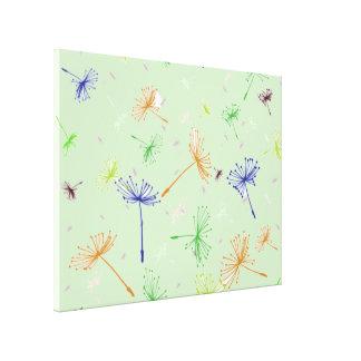 Dandelion Wishes 5 Gallery Wrap Canvas