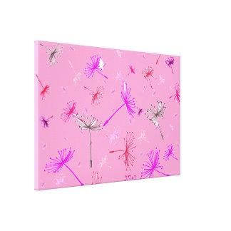 Dandelion Wishes 6 Gallery Wrap Canvas