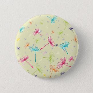 Dandelion Wishes 6 Cm Round Badge