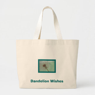 Dandelion Wishes Canvas Bag
