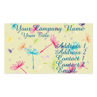 Dandelion Wishes Double-Sided Standard Business Cards (Pack Of 100)
