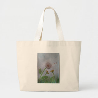 Dandelion Wishes on the Wind Canvas Bag