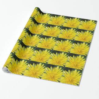 dandelion wrapping paper