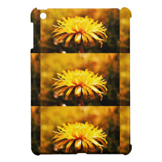 Dandelion Yellow Blossoms Flowers Vines Spring Cover For The iPad Mini