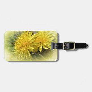 Dandelions - A Sunny Hi Luggage Tag