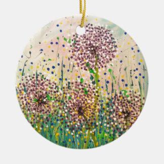 Dandelions Christmas Ornament
