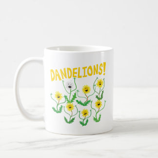 Dandelions! Coffee Mug