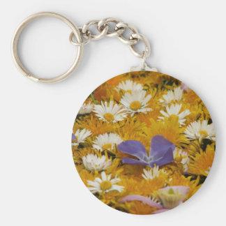 dandelions etc key ring
