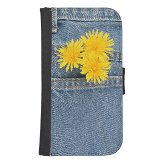 Dandelions in a pocket